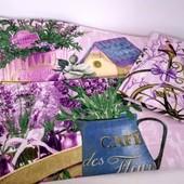 Идея для подарка! Прованс, лаванда! Набор красивых полотенец из хлопка!
