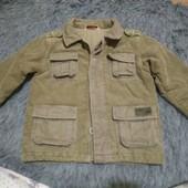 Детская курточка,на пуговицах, на рост 86-92