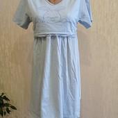 Трикотажная ночная рубашка ( хлопок 100%). Размер М.