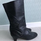 Демисезонные кожаные сапожки ARA р.4,5