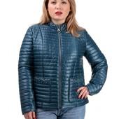 """♥ новинка! модная куртка """"вива"""" - весна-осень - 52, 54 рр ♥"""