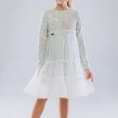 Платье Suzie Андриана молочное