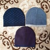 Подростковые двухслоевые шапочки для мальчиков. Турция!!