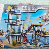 Конструктор brick police enlighten   Полицейский участок   Конструктор Police Battle Force  