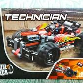 Конструктор lepin Technician Красный гоночный автомобиль 20073 (Аналог lego technic 42073) 155 дет