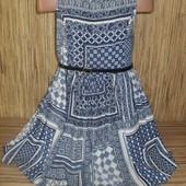 Летнее платье nutmeg на 6-7 лет