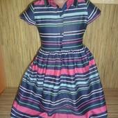 Как новое платье DEB на 5-6 лет