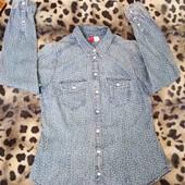 рубашка H&M на девочку подростка