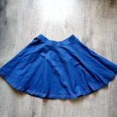 Трикотажная юбка под джинс tu в хорошем состоянии