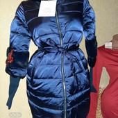 Шикарная куртка еврозима  дорогая модел очень классная последняя кому