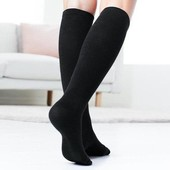 Лот 2 пары!!! Трикотажные носки-гольфы от Tchibo (Германия), размер 35/38