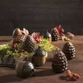 Супер необычный красивый декор из керамики набор 9 шт Melinera