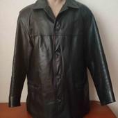 Кожаная мужская куртка большого размера. Смотрите и другие мои лоты
