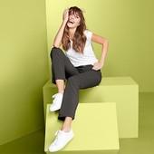 ☘ Функціональні штани оливкового кольору DryАctive Plus, Tchibo(Німеччина), р наші: 44-46 (38 євро)