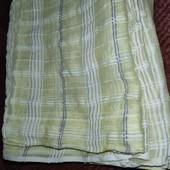 Нежные шторки на кухню или в гостиную 220*77см, 2 шт+ ламбрикен 180*34