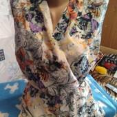 Шёлковое платье(на подкладке) на 46-48(укр.)
