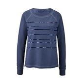Оригинальный винтажный реглан- свитшот с пайетками от Tchibo(германия) размер 36 евро=42-44