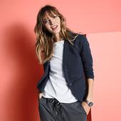 Стильный , элегантный, трикотажный пиджак-блайзер отTchibo (германия) размер 50 евро=56-58