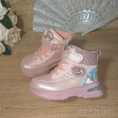 Красивие ботиночки на весну р. 29, 18см Новие!!