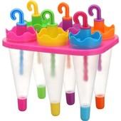 Формочки для мороженого Зонтики (6 форм)