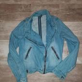 джинсовая косуха(состояние идеальное)