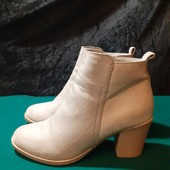 Серые деми ботинки Vice Versa, разм. 36 (24 см внутри). В идеале!
