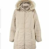 Мягусенькое куртка пальто парка р.38 евро esmara германия бежевое