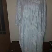 Ніжна нічна сорочка на дуже пишні форми!