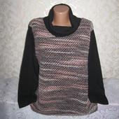 Тёплый мягенький свитер с содержанием шерсти XXLр., грудь 62