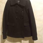 чёрное пальто бренда miss sixty,кашемир