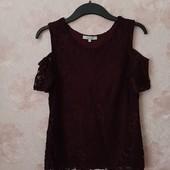 Красивая блуза с открытыми плечами ! УП скидка 10%