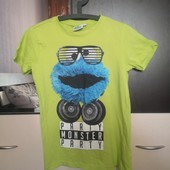 Яркая подростковая футболка Sesame Street 158/164