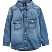 Стильна рубашка фірма H&M 7-8 років на ріст 128см