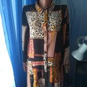 Платье- рубашка( Zara), р.L( 48-50)