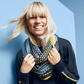 Универсальная стильная шаль - снуд от Tchibo (германия) размер универсальный