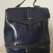 Рюкзак женский, натуральная кожа