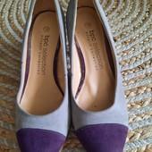 Туфли на весну под замш, 39 р, 24,5-25 см
