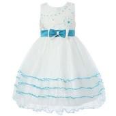 Красивенне нарядне брендове плаття Richie House на 5-6 рочків з Сша