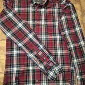 Рубашка в клетку на парня H&M р.S