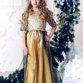 Нарядное платье для девочки 116-134