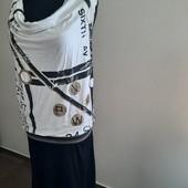 Легкое трикотажное платье трансформер.