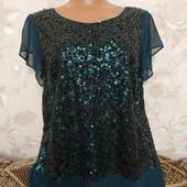 Нарядная женская блуза в паетках Coast, размер М