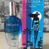 Туалетная вода 100мл лимитка Escada Island Kiss limited edition