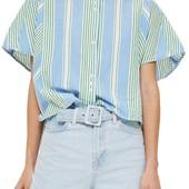 Рубашка в полоску Topshop (р.L)
