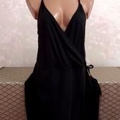 Платье женское на запах, размер л