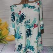 Вау! Обалденная блуза размер 56