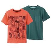 Лот с 2 котоновых футболок Pepperts 146/152