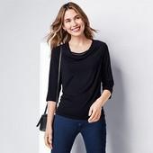 Шикарная блузка с майкой обманкой от тсм tchibo, Германия. Размер евро 40/42, на наш 46/48