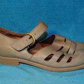 кожаные туфли born 38 размер