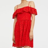 H&M кружевное платье успейте купить
